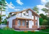 Типовой проект дома из СИП-панелей №7