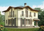 Проект кирпичного дома 42-38