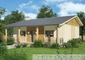 Проект дома 1550-2 одноэтажный жилой дом