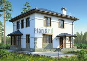 Проект кирпичного дома 42-71