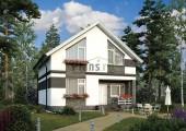 Проект кирпичного дома 42-75