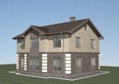 Проект дома 10х12