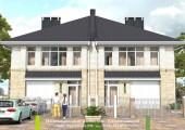 Кинешманский - Проект дома на две семьи - Экоплан