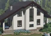 Коттедж Светлый 106 м2 с 4 спальнями