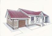 "Проект ""Иж-325"" Проект одноэтажного дома"