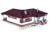 "Проект ""Иж-335""  Проект одноэтажного дома"