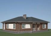 Проект одноэтажного дома  Б-05-17