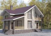 Готовый проект коттеджа 126 кв. м / Артикул СМ-115