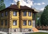 Готовый проект дома 218 кв.м // Артикул АМ-149