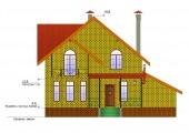 Готовый проект дома 139 кв.м // Артикул ОК-152