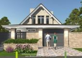 Проект  дома для узкого участка - Экоплан.рф