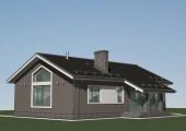 Проект дома в стиле БАРН - А-07-23
