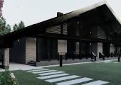 Проект загородного дома А 700
