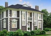 Проект дома 263 кв.м // Артикул Е-55