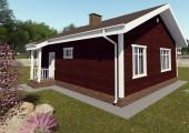 Готовый проект дома 75 кв. м / Артикул ДП-230