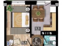 Доступные квартиры-студии