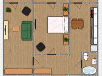 2 комнатная Владимирская