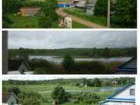 Дом у озера Селигер в Демянском районе Полново.