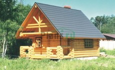 Проект деревянного дома 10-17