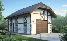 Проект кирпичного дома 72-87