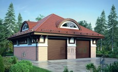 Проект кирпичного дома 73-34