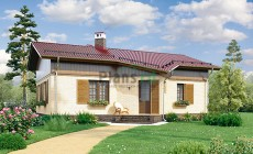 Проект кирпичного дома 40-10