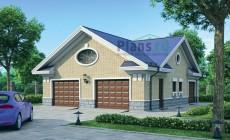 Проект кирпичного дома 37-48
