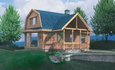 Проект каркасного дома 70-05