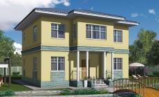 Проект каркасного дома 90-17
