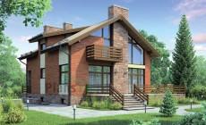 Проект бетонного дома 55-64