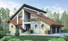 Проект бетонного дома 55-66