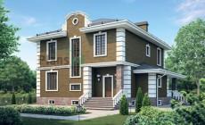 Проект бетонного дома 55-72