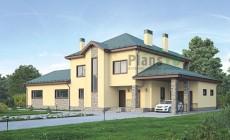 Проект бетонного дома 55-76