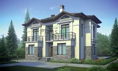 Проект бетонного дома 55-79