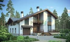Проект бетонного дома 55-83