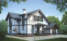 Проект бетонного дома 55-93