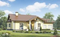 Проект бетонного дома 55-99