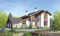 Проект бетонного дома 56-06