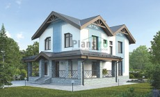 Проект бетонного дома 56-11