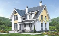 Проект бетонного дома 56-14
