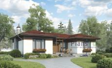 Проект бетонного дома 56-24