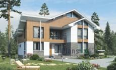 Проект бетонного дома 56-26
