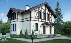 Проект бетонного дома 56-41