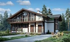 Проект бетонного дома 56-47
