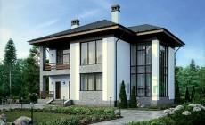 Проект бетонного дома 56-50