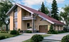 Проект бетонного дома 56-55