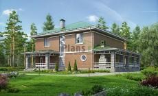 Проект бетонного дома 56-70