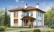 Проект бетонного дома 56-71