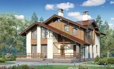 Проект бетонного дома 56-74