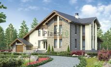 Проект бетонного дома 56-82